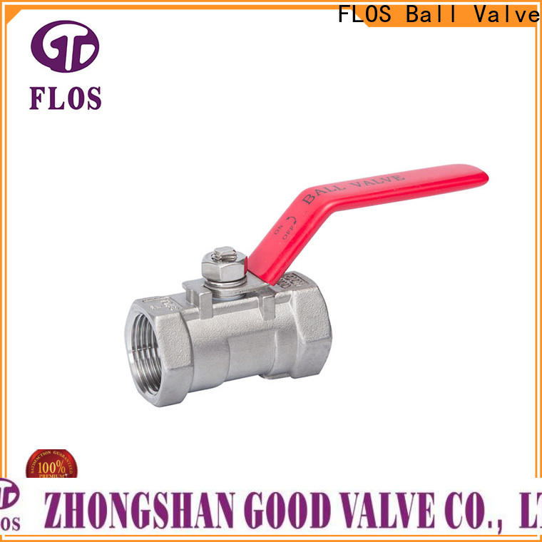 FLOS Custom 1 pc ball valve Suppliers for directing flow