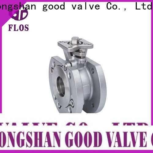 FLOS pneumaticmanual one piece ball valve factory for opening piping flow