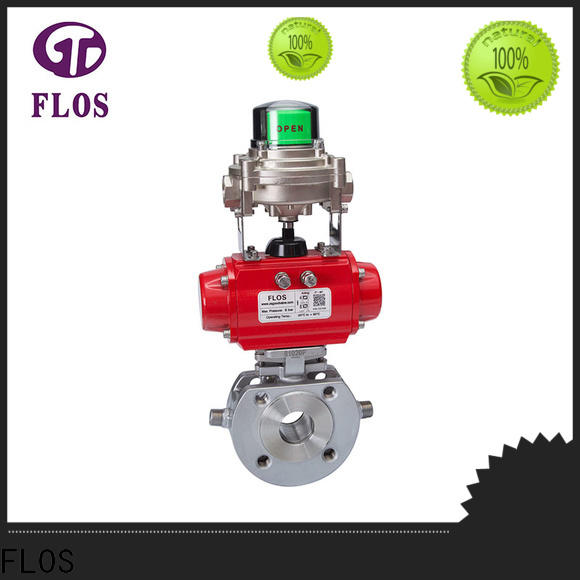 FLOS highplatform flanged gate valve factory for closing piping flow