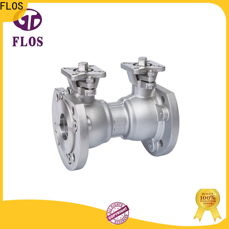 FLOS flanged single piece ball valve Suppliers for closing piping flow