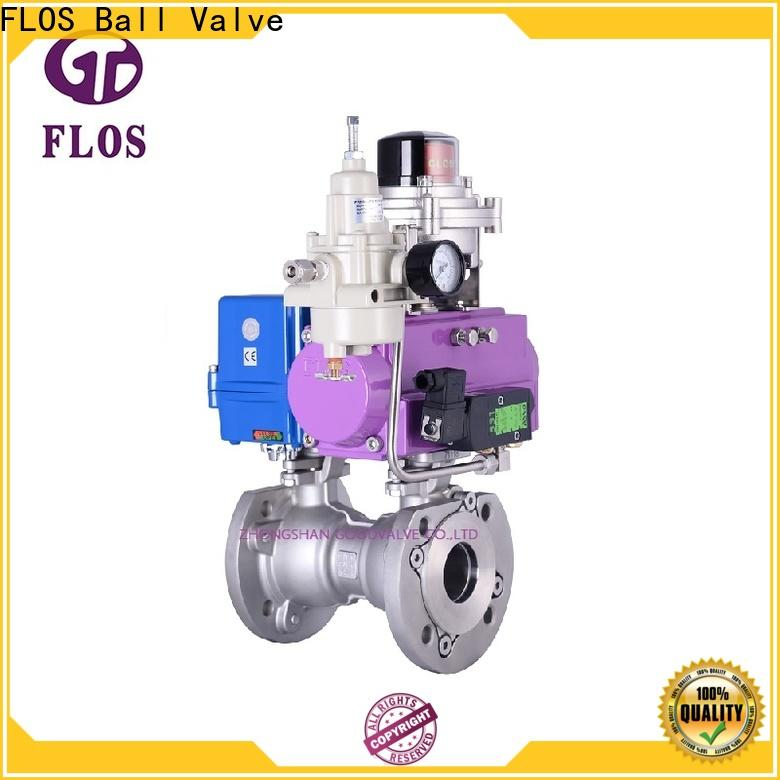 FLOS New 1 piece ball valve company for closing piping flow