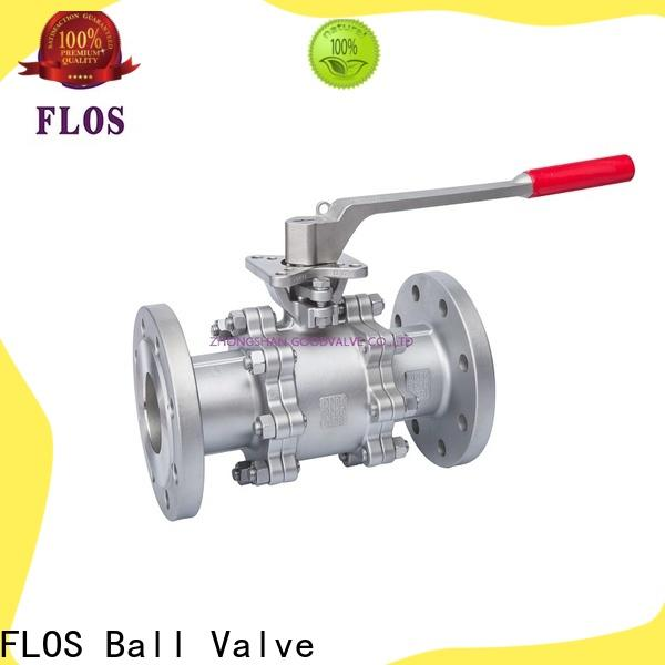 FLOS switchflanged 3 piece stainless ball valve Suppliers for directing flow