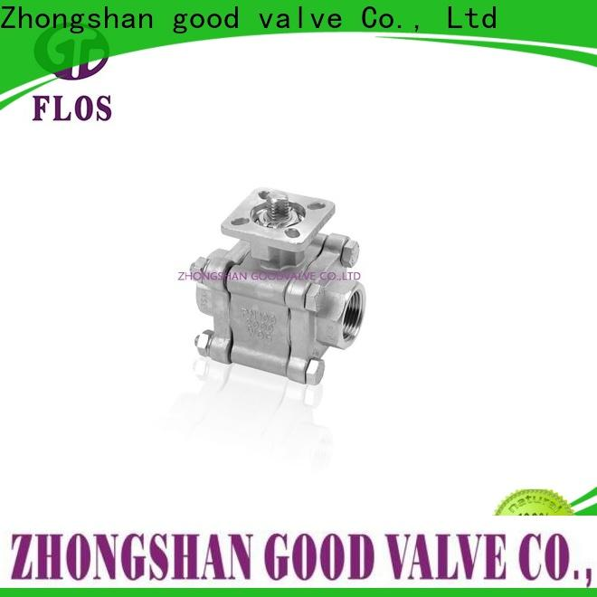 Latest 3 piece stainless ball valve position manufacturers for directing flow