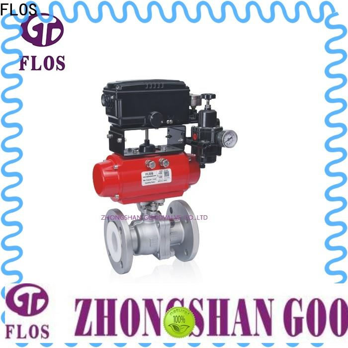 FLOS pc 2 piece stainless steel ball valve for business for opening piping flow