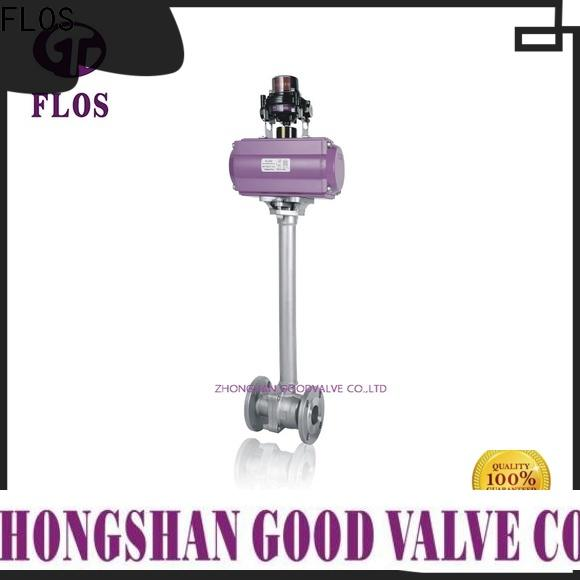 FLOS valveflanged 2-piece ball valve for business for closing piping flow