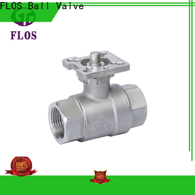 High-quality stainless ball valve ends company for closing piping flow