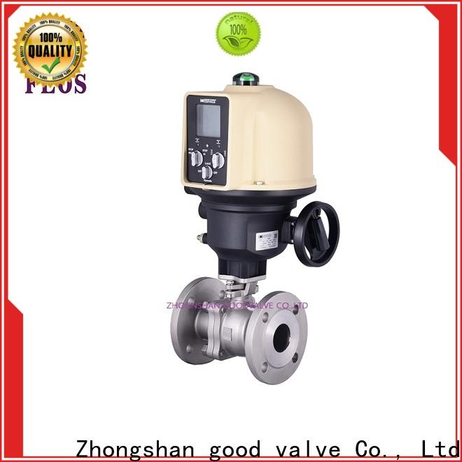 FLOS valve 2 piece stainless steel ball valve for business for directing flow