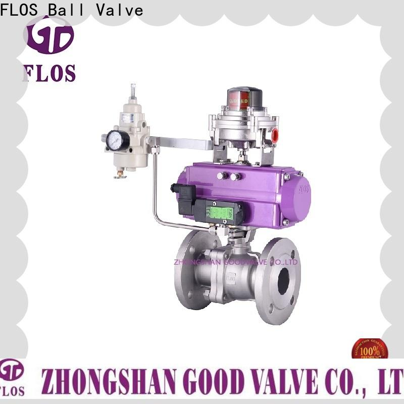 FLOS Custom ball valves Suppliers for closing piping flow