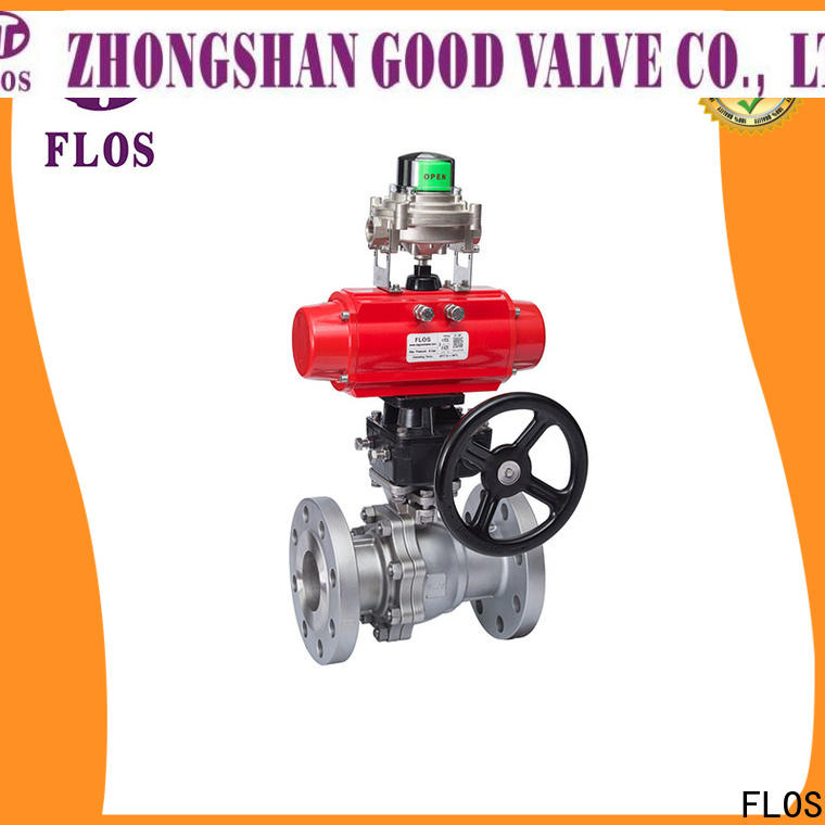 Latest two piece ball valve ends Supply for opening piping flow