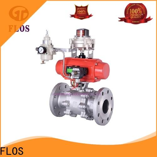 FLOS valve 3-piece ball valve manufacturers for opening piping flow