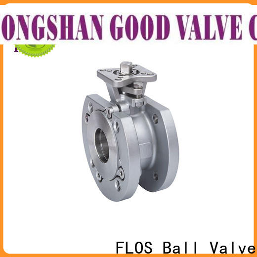 New one piece ball valve steel company for directing flow