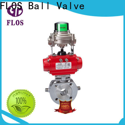 FLOS preservation one piece ball valve manufacturers for closing piping flow