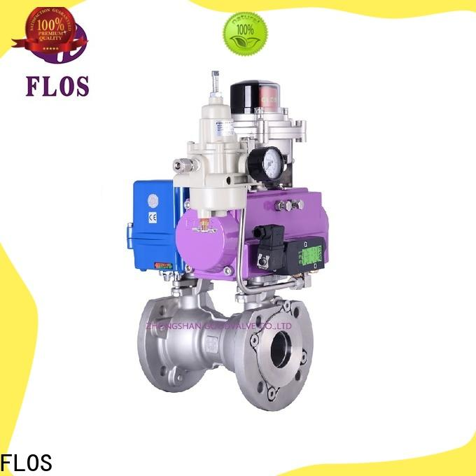 New one piece ball valve pneumaticelectric Supply for opening piping flow