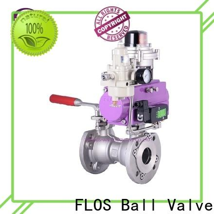 FLOS New 1 piece ball valve Supply for opening piping flow