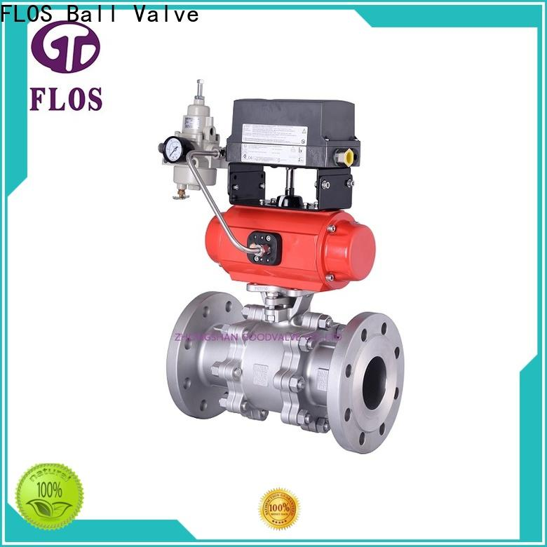 FLOS High-quality stainless valve factory for opening piping flow