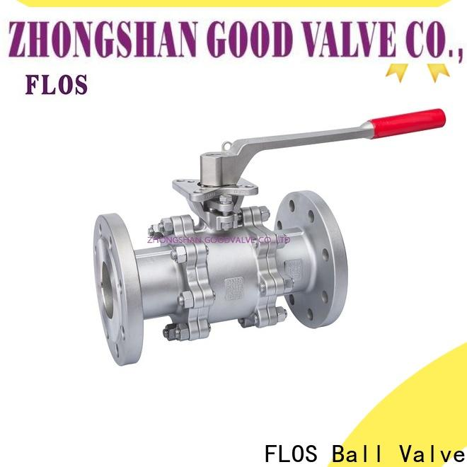 Top 3 piece stainless ball valve switchflanged for business for directing flow