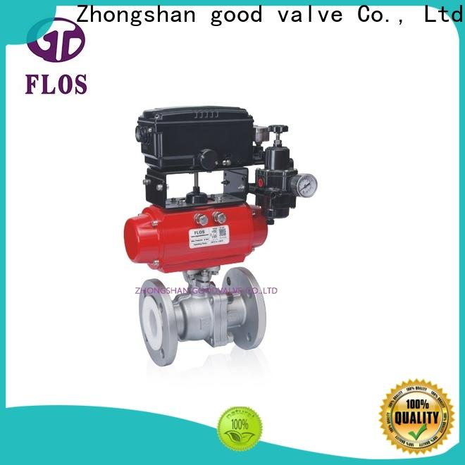 FLOS Latest two piece ball valve manufacturers for directing flow
