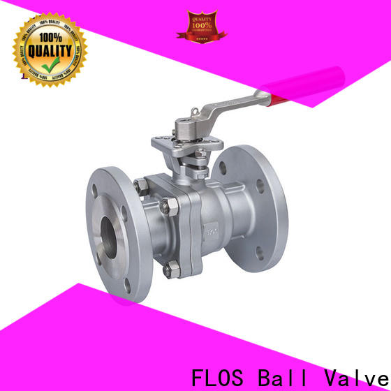 FLOS positionerflanged ball valves Suppliers for closing piping flow
