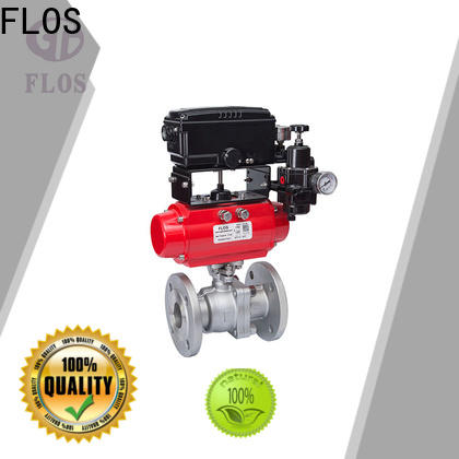FLOS position ball valves for business for directing flow