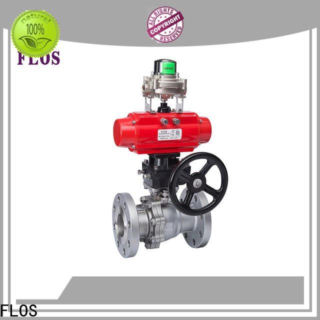 FLOS position two piece ball valve for business for opening piping flow