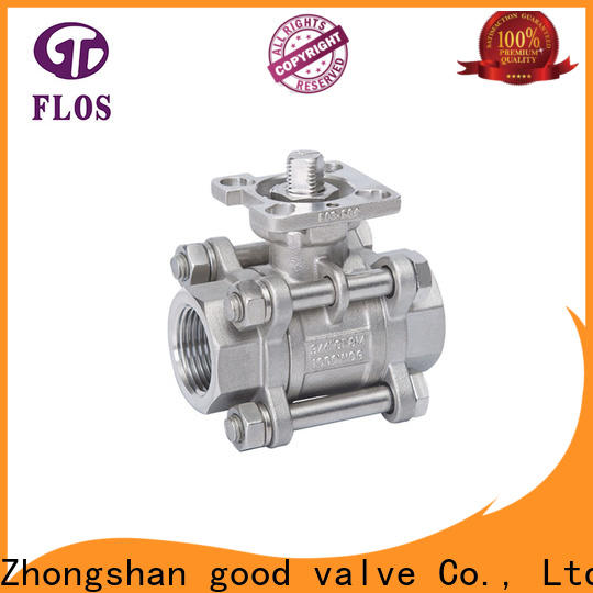 New 3-piece ball valve position Supply for closing piping flow
