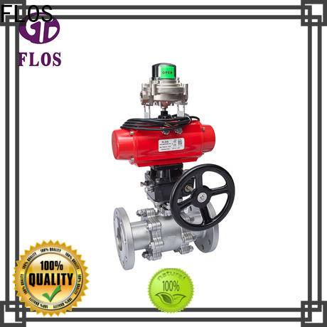 FLOS position stainless valve for business for closing piping flow