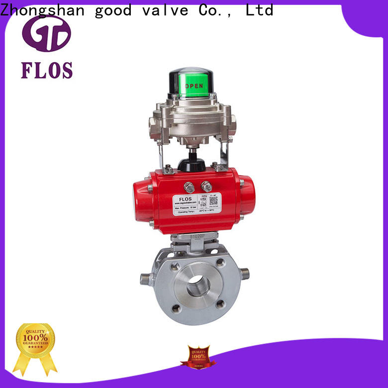 FLOS manual ball valve factory for closing piping flow