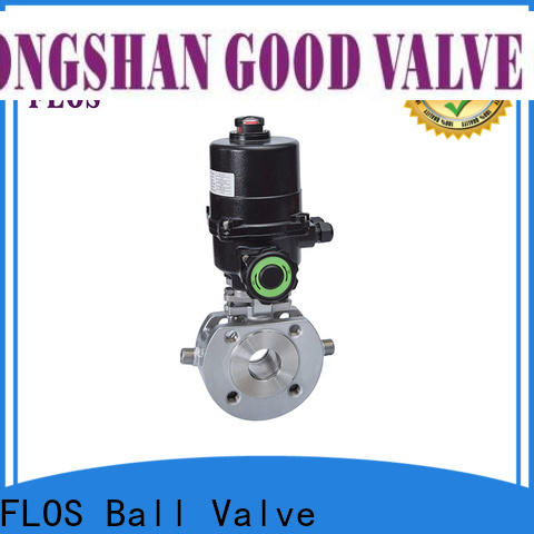 Custom uni-body ball valve pneumaticmanual Suppliers for closing piping flow