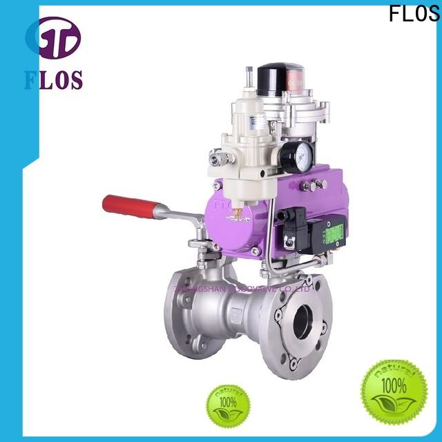 Latest single piece ball valve switchflanged manufacturers for closing piping flow
