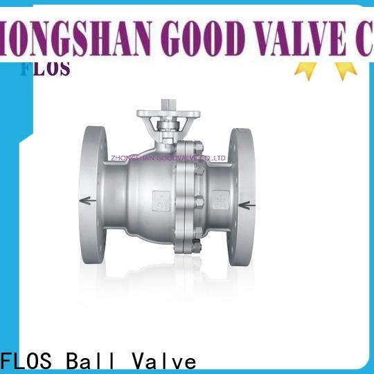 FLOS Custom stainless ball valve manufacturers for closing piping flow