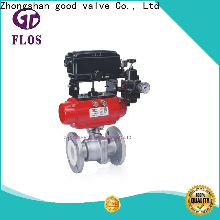 New stainless steel ball valve pneumatic company for directing flow