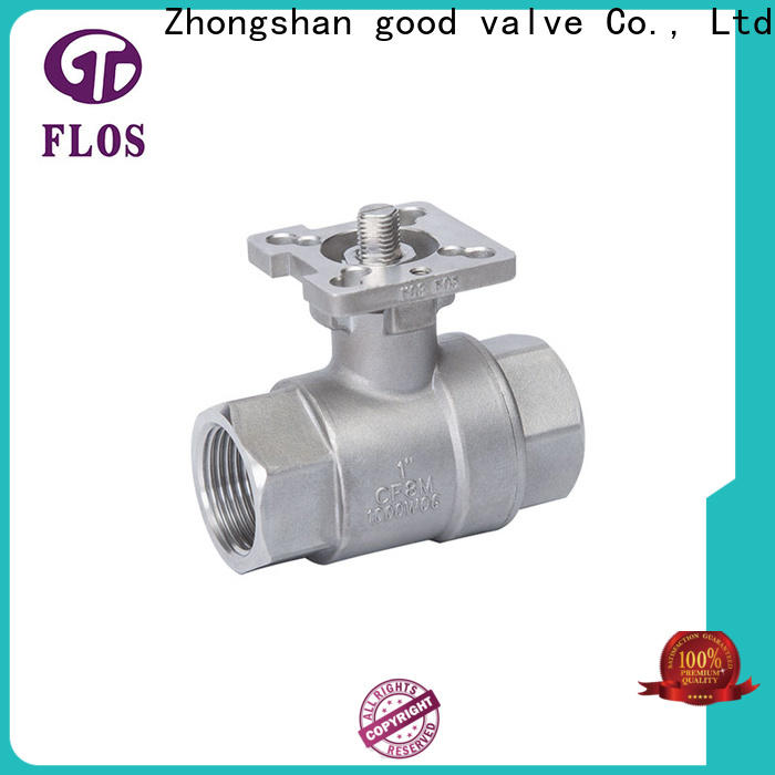 Best 2 piece stainless steel ball valve switchflanged manufacturers for opening piping flow