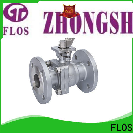 FLOS Top ball valve manufacturers factory for opening piping flow