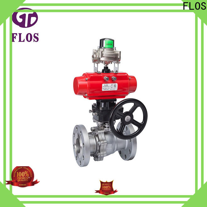 FLOS New 2-piece ball valve Supply for directing flow