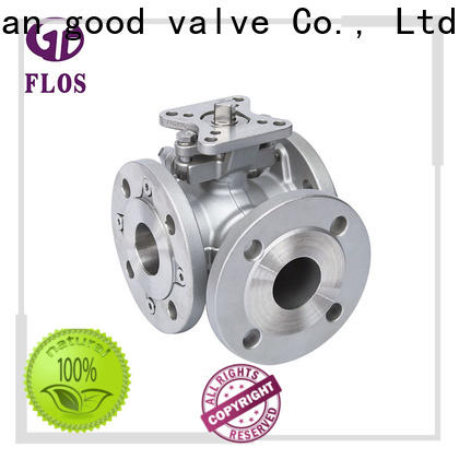 FLOS steel 3 way valves ball valves manufacturers for directing flow