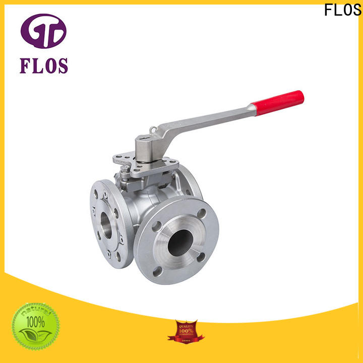 Custom three way valve position for business for directing flow