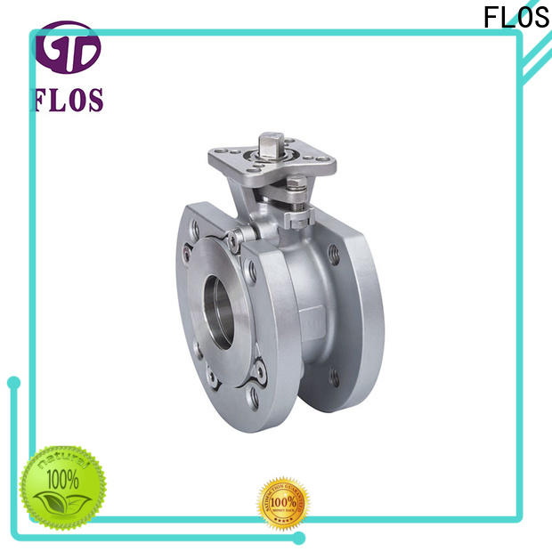 FLOS pneumatic 1 pc ball valve Supply for closing piping flow