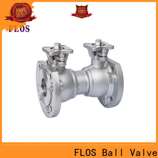 FLOS one 1-piece ball valve factory for closing piping flow