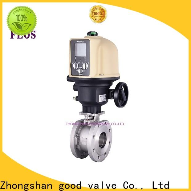 FLOS threaded single piece ball valve company for opening piping flow