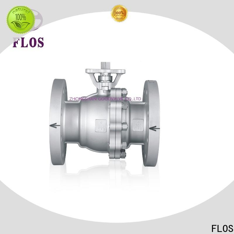 FLOS Best two piece ball valve Suppliers for closing piping flow