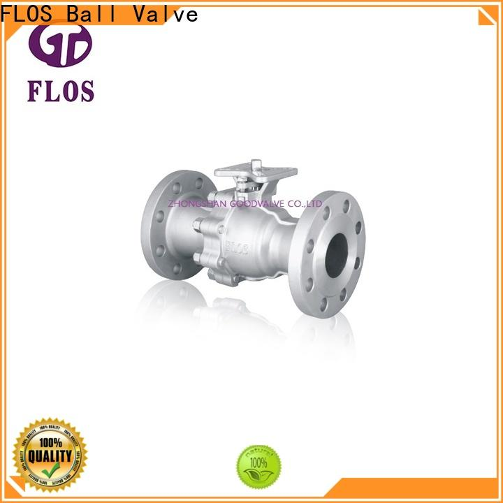 Top 2 piece stainless steel ball valve ends Suppliers for closing piping flow