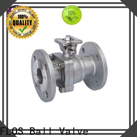 Best two piece ball valve valveflanged factory for opening piping flow