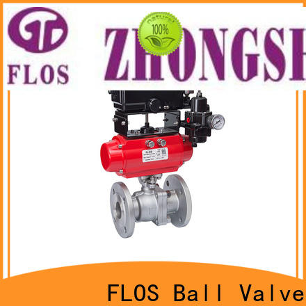 Latest 2-piece ball valve pneumatic for business for directing flow