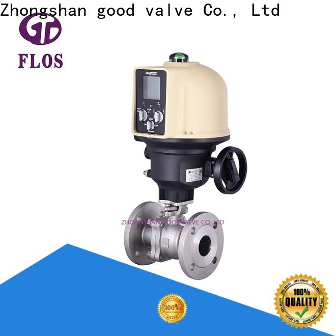 FLOS switchflanged stainless steel valve manufacturers for closing piping flow