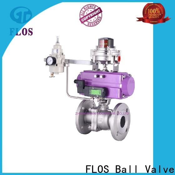 FLOS Wholesale two piece ball valve manufacturers for opening piping flow