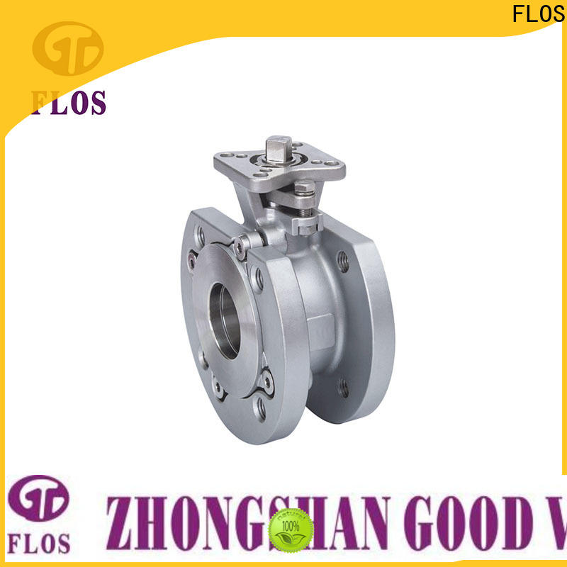 FLOS Custom 1 piece ball valve manufacturers for opening piping flow