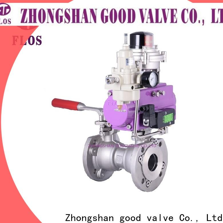 High-quality 1 pc ball valve pneumatic for business for closing piping flow