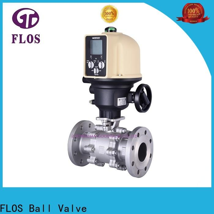 FLOS ends 3 piece stainless steel ball valve Suppliers for opening piping flow