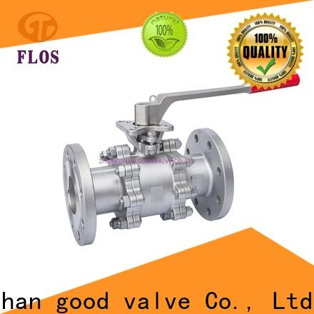 FLOS Wholesale 3-piece ball valve for business for opening piping flow