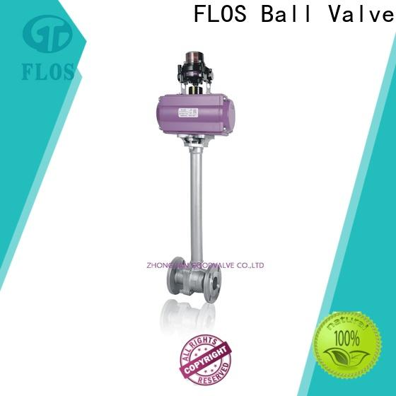 FLOS ball stainless steel ball valve for business for closing piping flow